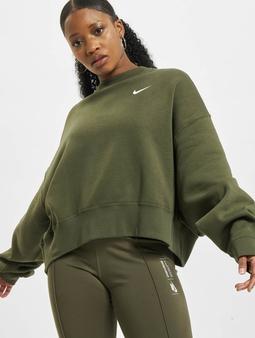 Nike W Nsw Crew Flc Trend Gensre khaki