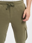 Urban Classics Fitted Cargo Sweatpants Olive image number 5