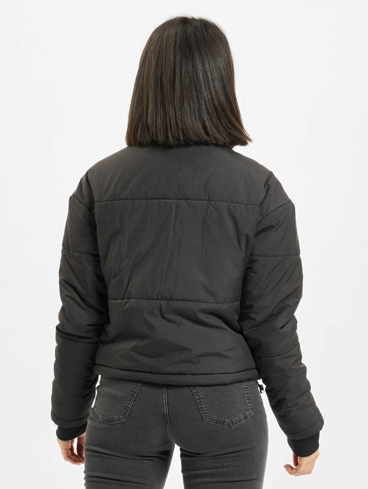 Urban Classics Oversized High Neck Jacket White image number 1