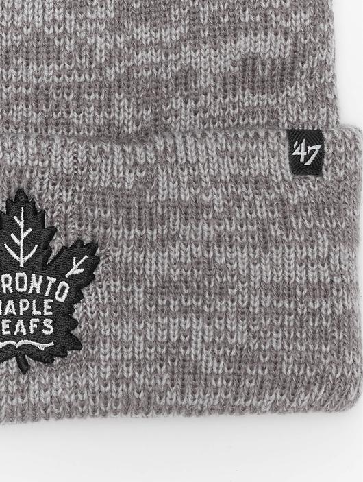 '47 NHL Toronto Maple Leafs Brain Freeze Cuff Knit Beanie Dark Grey image number 1
