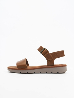 Timberland Lottie Lou 1Band Sandals Rust Full/Grain
