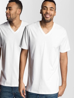 Levi's® V-Neck T-Shirt 2-Pack White