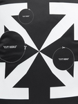 Off White Backpack Black Whit image number 9