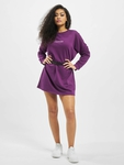 Missguided Oversized Sweater Edition Longsleeve Dress Purple image number 4