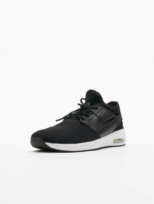 Nike SB Air Max Janoski 2 Premium Sneakers Black/Black/Black/Thunder Grey image number 1