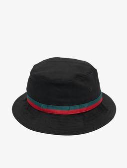 Flexfit Stripe Bucket Hat Black/Firered/Green