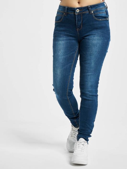 Sublevel Skinny Jeans Dark Blue Denim image number 2