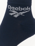 Reebok Classic FO Ankle 3 Pack Socks Collegiate Navy/Fluid Blue/Posh Pink image number 1