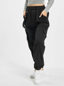 Missguided Petited Ring Strap Chino bukser svart