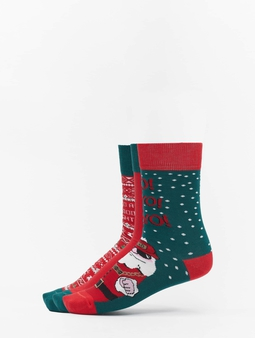Urban Classics Christmas Socks Set Santa