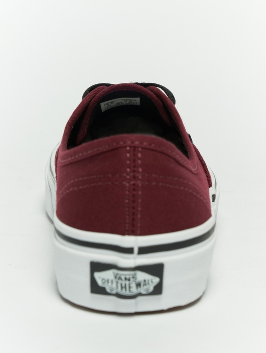 Vans Authentic Sneakers Port Royal/Black (40.5 blue) image number 2