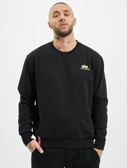 Alpha Industries Basic Small Logo Foil Print Sweatshirt
