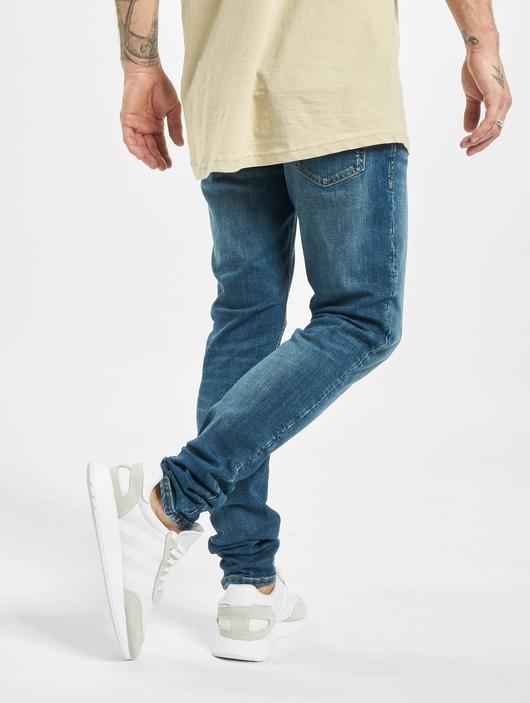 Jack & Jones jjiLiam Jjoriginal Agi 005 Skinny Jeans Blue Denim image number 1