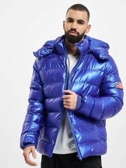 Mister Tee Nasa Insignia Metallic Puffer Winter Jacket