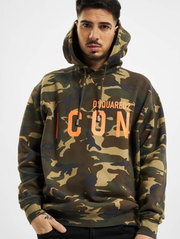 Dsquared2 Camouflage Icon Hooded Hettegensre kamuflasje