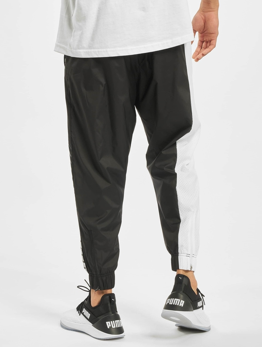 Puma Collective Woven Sweat Pants Puma Black/Puma White image number 1