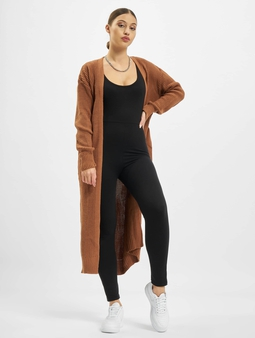 Missguided Belted Maxi Cardigan Mocha
