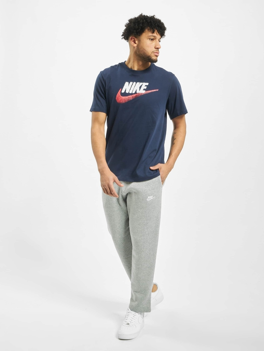 Nike Brand Mark T-Shirt Black/Obsidian Mist image number 3