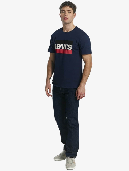 Levi's® Button Fly Onewash Straight Fit Jeans image number 2