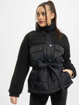 Urban Classics Ladies Sherpa Mix Puffer Jacket