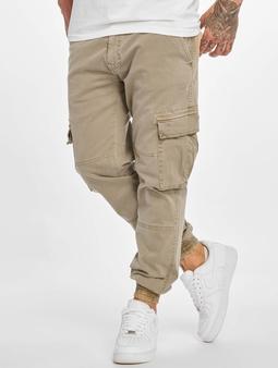 Urban Classics Washed Cargo Twill Jogging Chino bukser beige