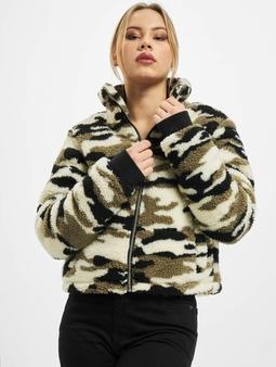 Urban Classics Ladies Sherpa Jacket