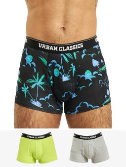 Urban Classics  3-Pack Boxershort
