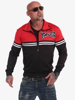 Yakuza Toxin Sweatshirt Black/Rot