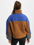 Urban Classics Ladies Sherpa 3-Tone Pull Over Lightweight Jackets image number 1