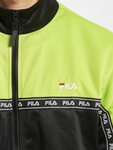 Fila Urban Line Hachiro Track Jacket Acid Lime/Black/Bright White image number 3