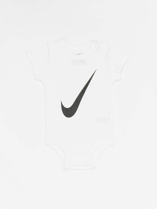 Nike Swoosh S/S Bodysuit 3 Pack White image number 5
