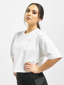 Puma Evide Form Stripe Crop T-Shirt Sunny Lime
