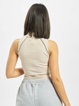 Sixth June Reflective Piping Crop Top Beige image number 1