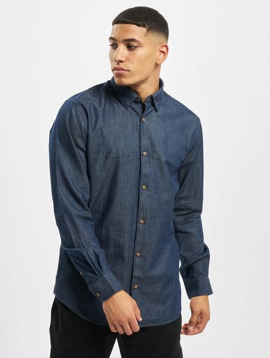 Only & Sons onsAsk Shirt Dark Blue Denim image number 2