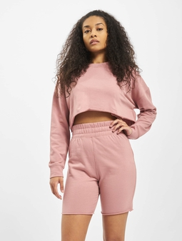 Missguided Co-Ord Cycling Short Sweat Set Top