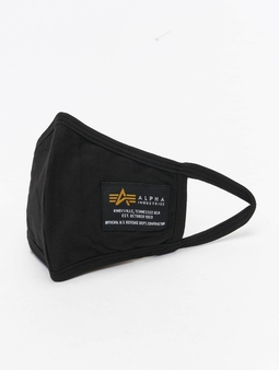 Alpha Industries Crew Face Mask Black