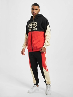 Ecko Unltd. Sweatsuit Black/Red/Off White
