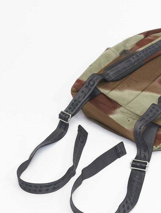 Off White Backpack Camo Brown image number 10