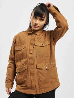 Dickies Duck Sherpa Chore Transition Jacket Brown Duck