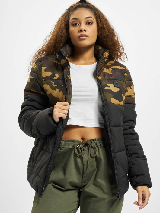 Urban Classics 2 Tone Basic  Puffer Jackets image number 0