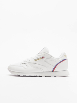 Reebok Classic Leather Sneakers White/Radiant Red/Blue Blast