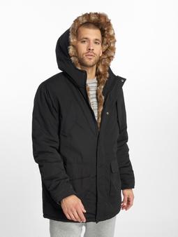 Urban Classics Hooded Faux Fur Parka