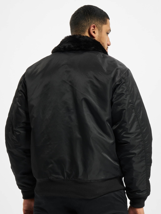 Brandit Ma2 Fur Collar Jacket Black image number 1