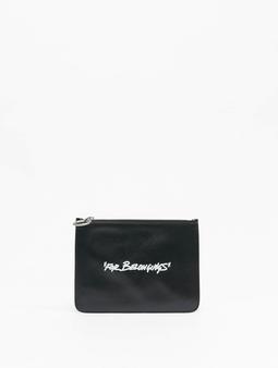 Off-White Key Holder Bags svart