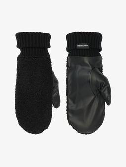 Urban Classics Sherpa Imitation Leather Gloves