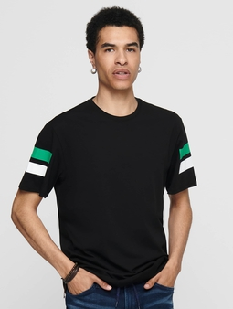 Only & Sons onsStripey Longy T-Shirt