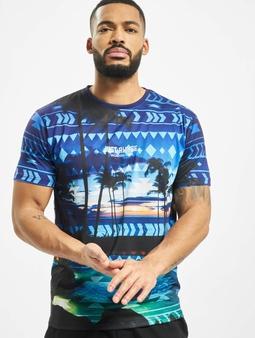 Just Rhyse Palm Coast T-skjorter blå