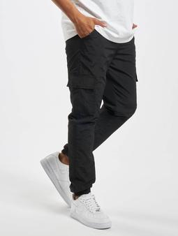 Urban Classics Cargo Nylon Chino bukser svart