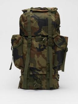 Brandit Nylon Backpack Woodland