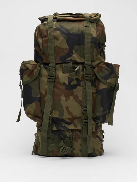 Brandit Nylon Backpack Woodland image number 0